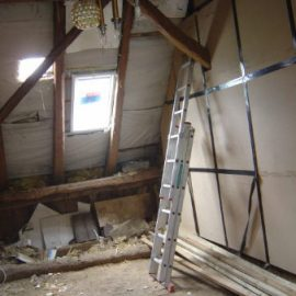 Der Dachausbau eines Fachwerkhauses